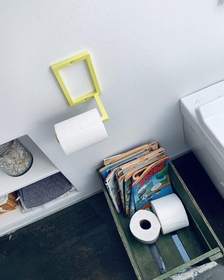 Toiletrulleholder der passer med vores badeværelseserie
