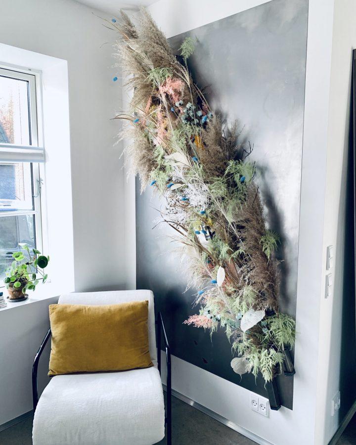 Blomstervæggen i stor
